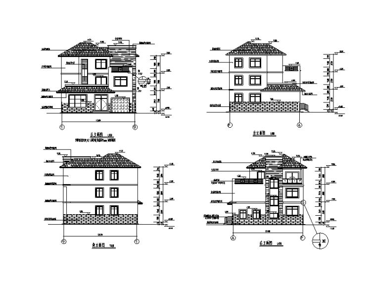 379套精选单层多层农村自建房+别墅建筑施工图8