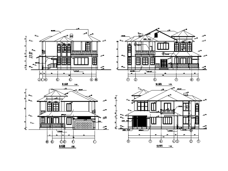 379套精选单层多层农村自建房+别墅建筑施工图11