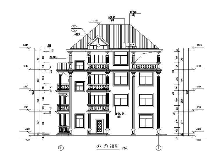 379套精选单层多层农村自建房+别墅建筑施工图14