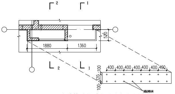 二次结构建筑过程震动点分布图