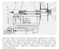 工字轮收线机结构图