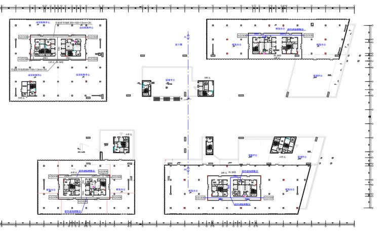 软件园产业基地新建FTO工程图纸预算书
