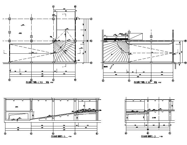 一键下载!大型超市总承包工程全套招标资料-坡道详图