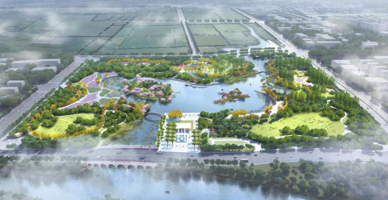 [广东]珠海海绵城市市民休闲公园景观方案