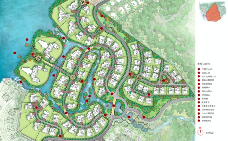 [四川]成都欧式风格精致别墅区景观设计方案