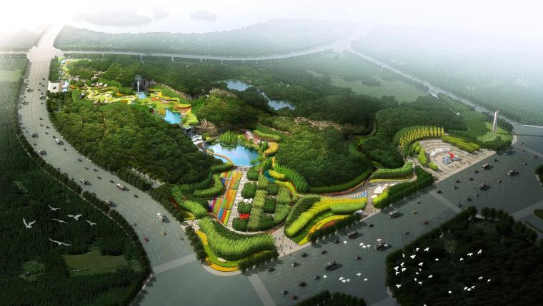 [江苏]棕地生态修复公园景观设计方案