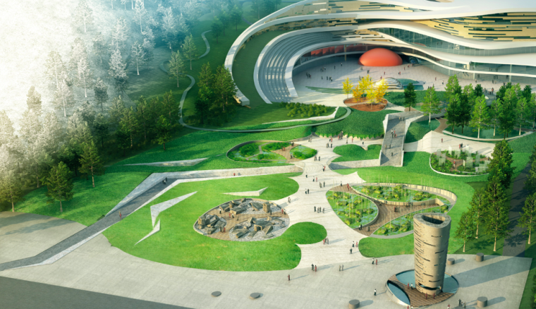 [江苏]南京国家地质公园博物馆景观设计方案