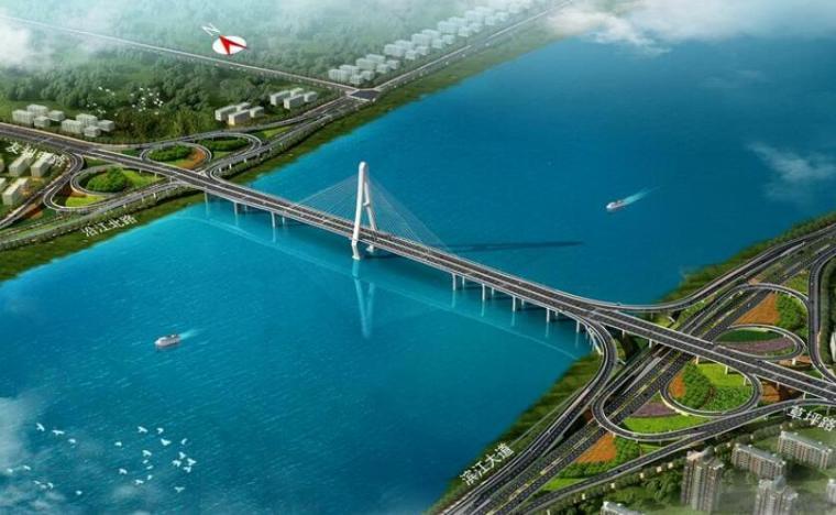 大桥总体鸟瞰图