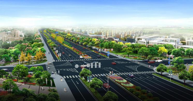 [浙江]城市主干道沿路绿化景观设计方案
