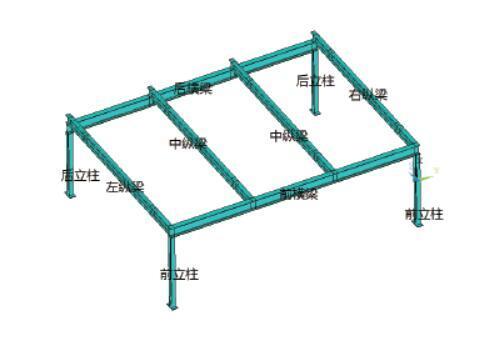 两层升降横移式立体车库钢结构设计