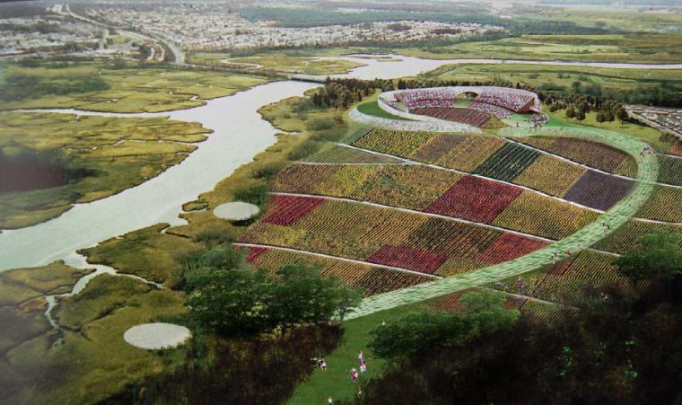 [浙江]湖州自然风貌生态景区景观规划设计-休闲农庄效果图
