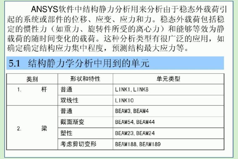 ANSYS经典应用实例(结构分析详解)