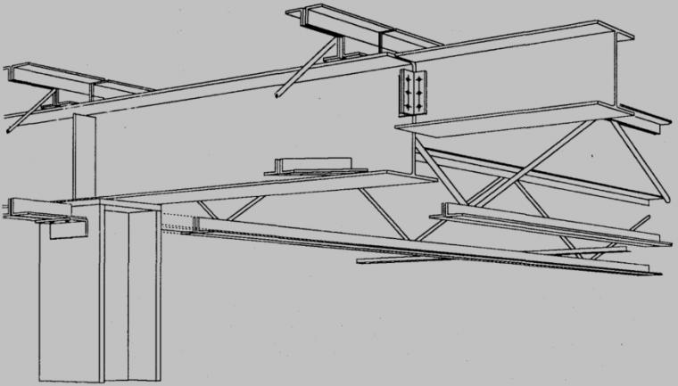 工字形截面钢悬臂梁的整体稳定承载力