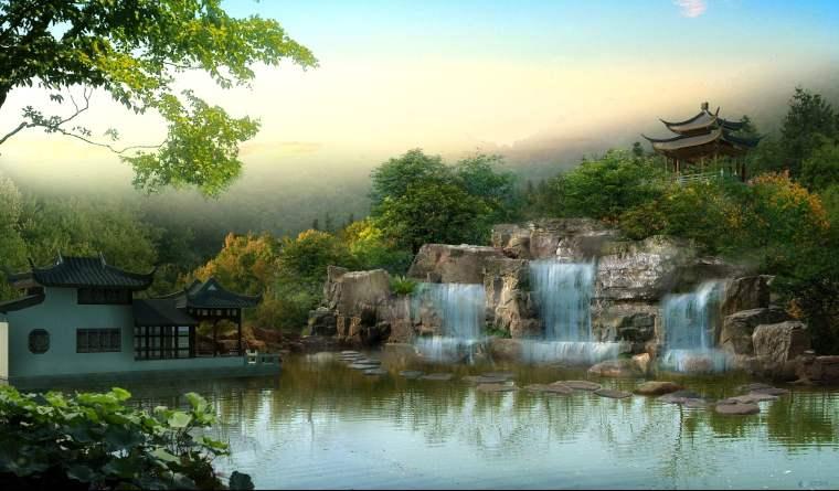 中国房地产园林景观基础及建筑风格