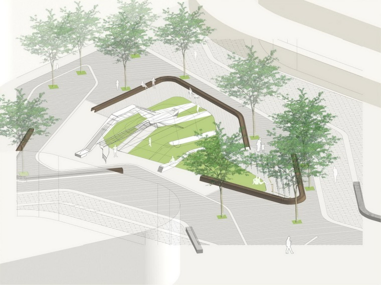 [江苏]工业园区时代广场景观设计方案