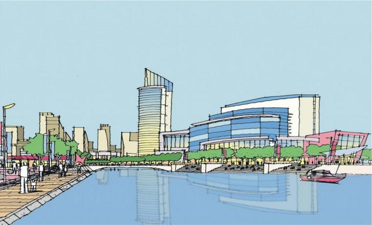 [宁波]城市河岸滨水开放空间景观设计方案