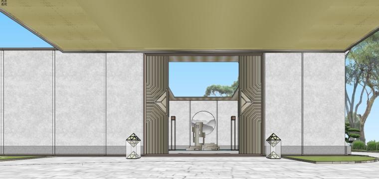 苏州仁恒别墅示范区建筑模型设计 (2)