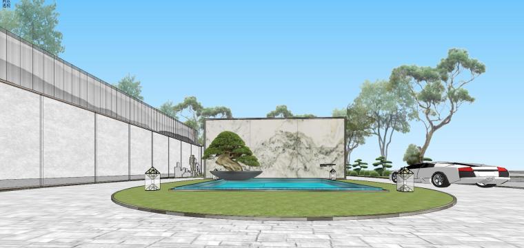 苏州仁恒别墅示范区建筑模型设计 (1)