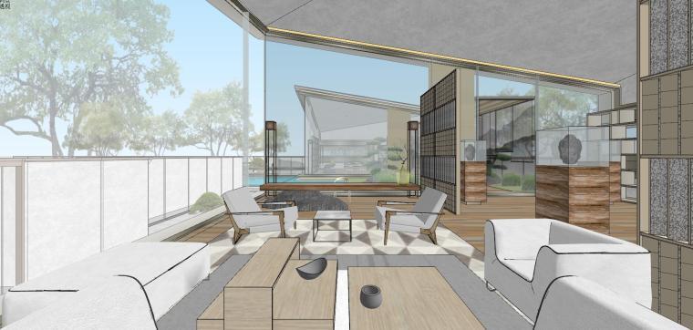 苏州仁恒别墅示范区建筑模型设计 (6)