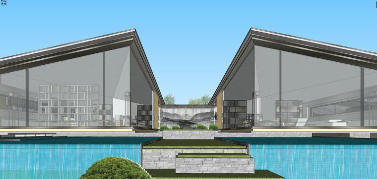 苏州仁恒别墅示范区建筑模型设计 (9)