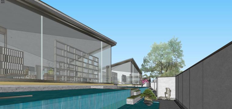 苏州仁恒别墅示范区建筑模型设计 (10)