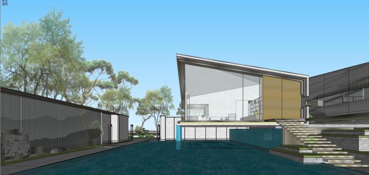 苏州仁恒别墅示范区建筑模型设计 (11)