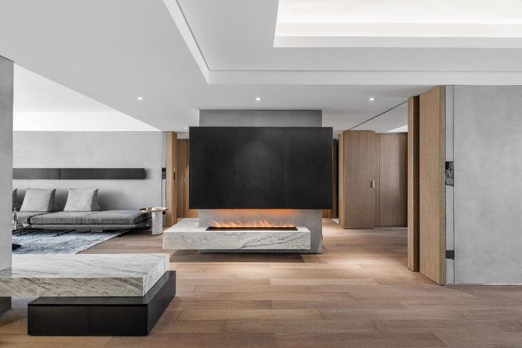 用理性设计反塑生活激情的居住空间!