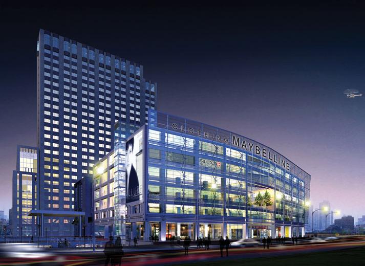 商业建筑效果图2