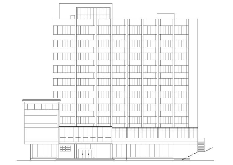 [云南]个旧市宾馆改造妇幼保健院项目方案图