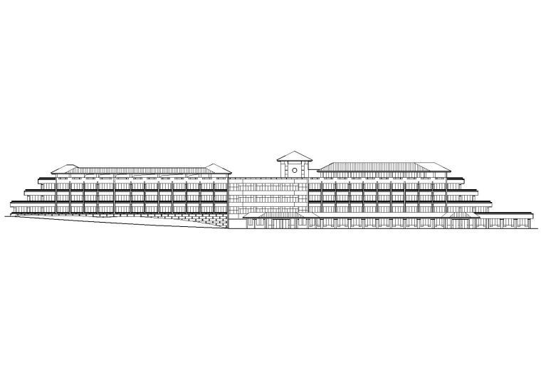 某护理式老年公寓建筑项目工程扩出图