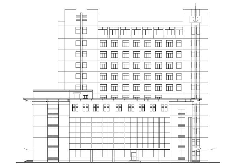 某医院急诊楼建筑工程项目设计施工图