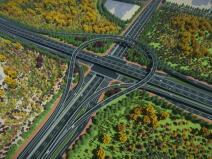 快速路系统规划方案设计BIM技术应用探索