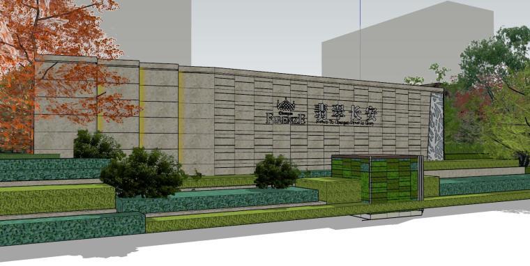 北京长安示范区住宅建筑模型设计 (2)