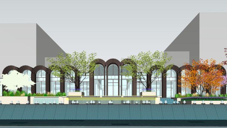 北京长安示范区住宅建筑模型设计 (1)