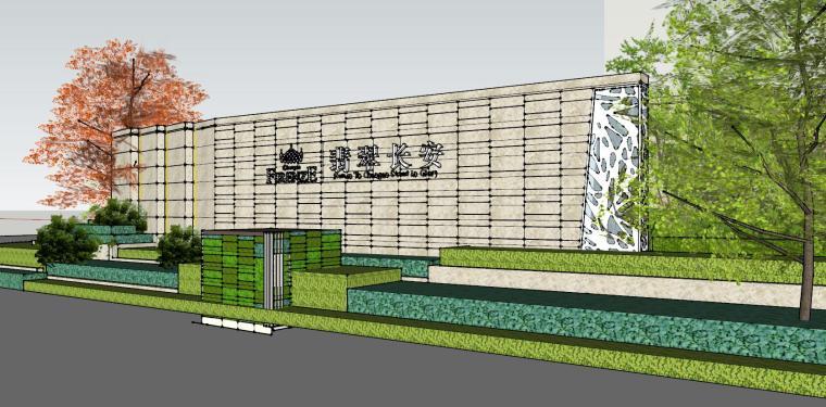 北京长安示范区住宅建筑模型设计 (3)