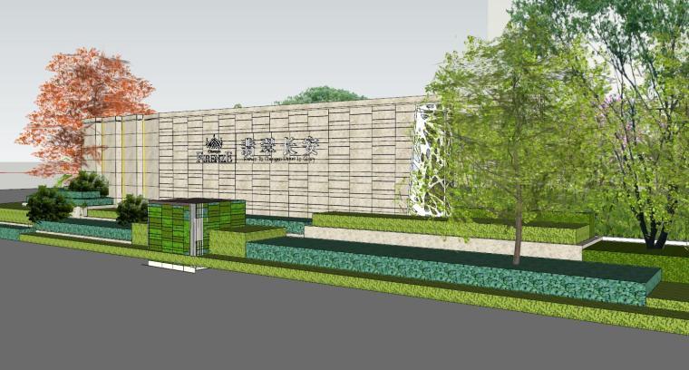 北京长安示范区住宅建筑模型设计 (4)