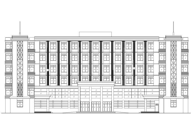 某六层医院急诊楼建筑工程项目设计施工图