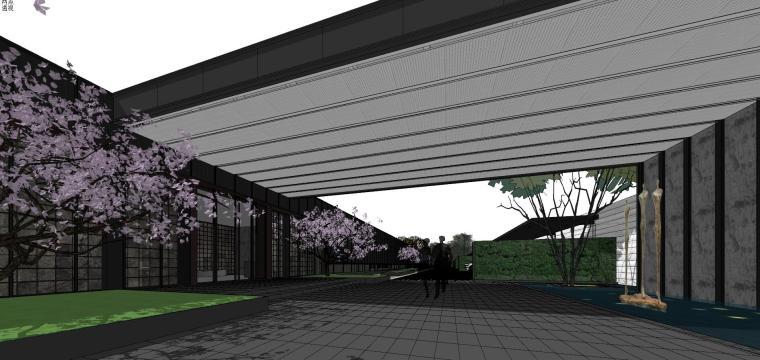 知名地产深圳湾超级总部基地城市展厅建筑模型设计 (4)