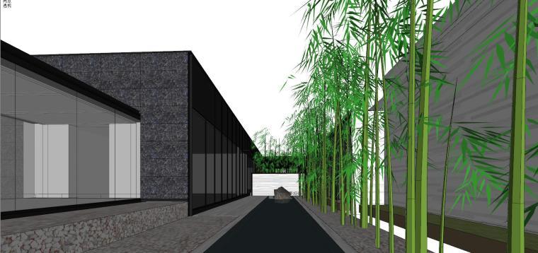 知名地产深圳湾超级总部基地城市展厅建筑模型设计 (6)