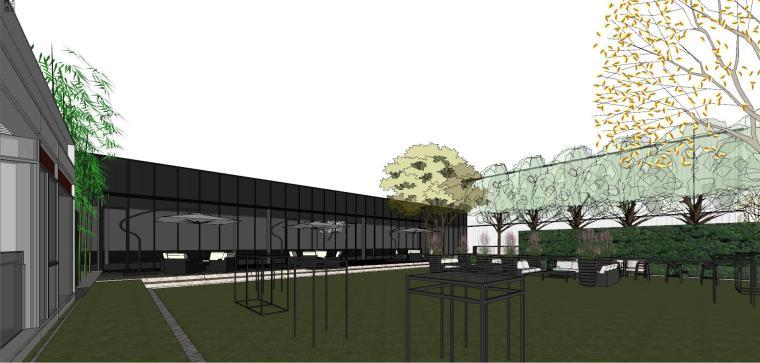 知名地产深圳湾超级总部基地城市展厅建筑模型设计 (7)