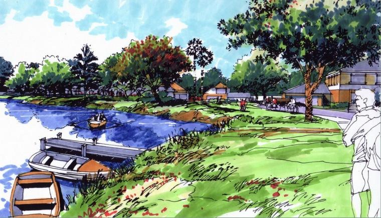 公园景观效果图7