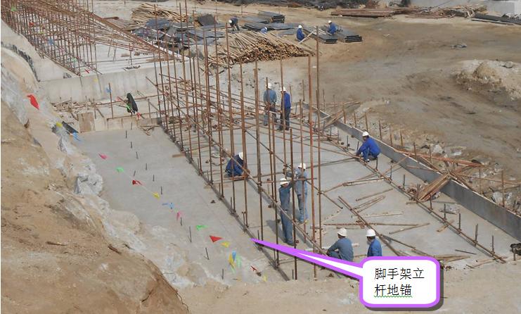 提高填埋场现浇混凝土坡壁尺寸合格率