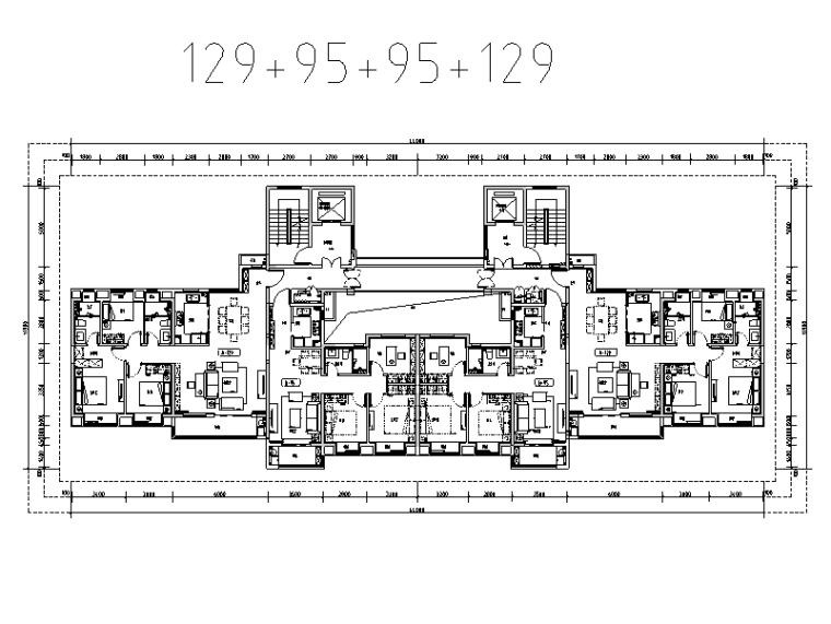 南方54m以上高层住宅标准化户型库(绿城)