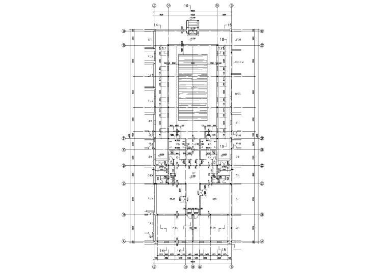 二号院平面图