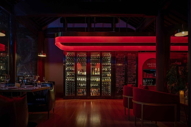 南京VINCOOL WINE&CELLAR酒吧| 薛Design_5