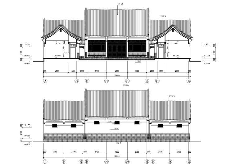 建筑剖面图3