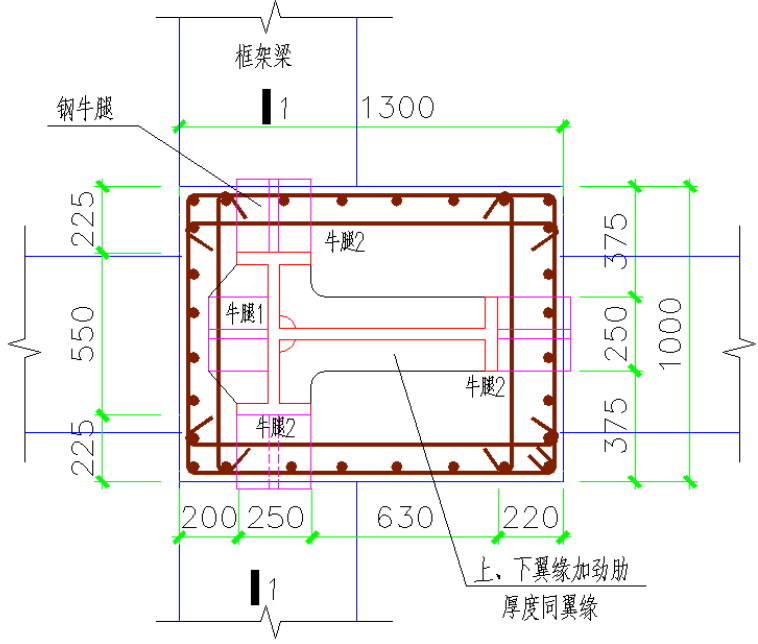 提高劲钢柱-梁节点钢筋安装一次合格率