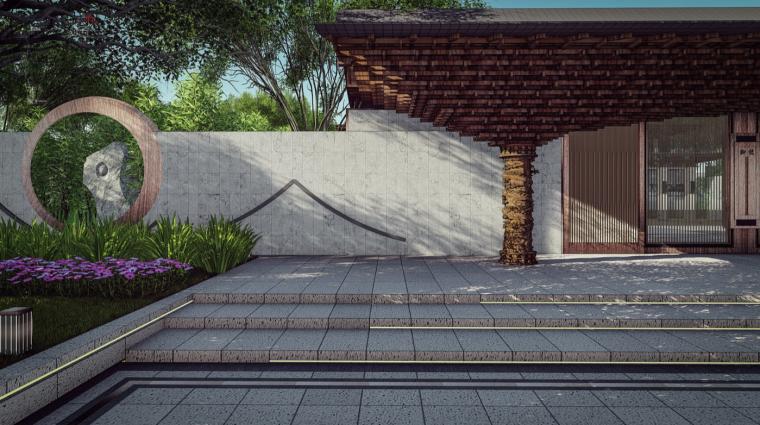 庭院空间效果图