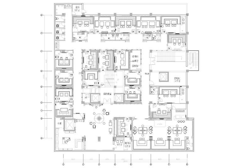施工图 项目位置:浙江 设计风格:现代风格 图纸格式:天正7,cad2000图片