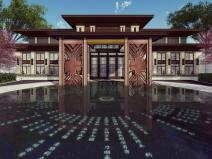 [浙江]台州传统中式古典园林典雅居住区景观